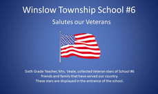 Cover photo of the School #6 Honors our Veterans album